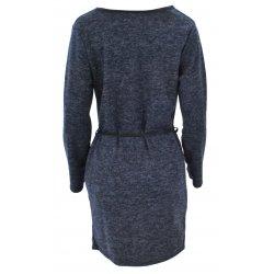 Kardigan sweter WATERFALL (niebieski)