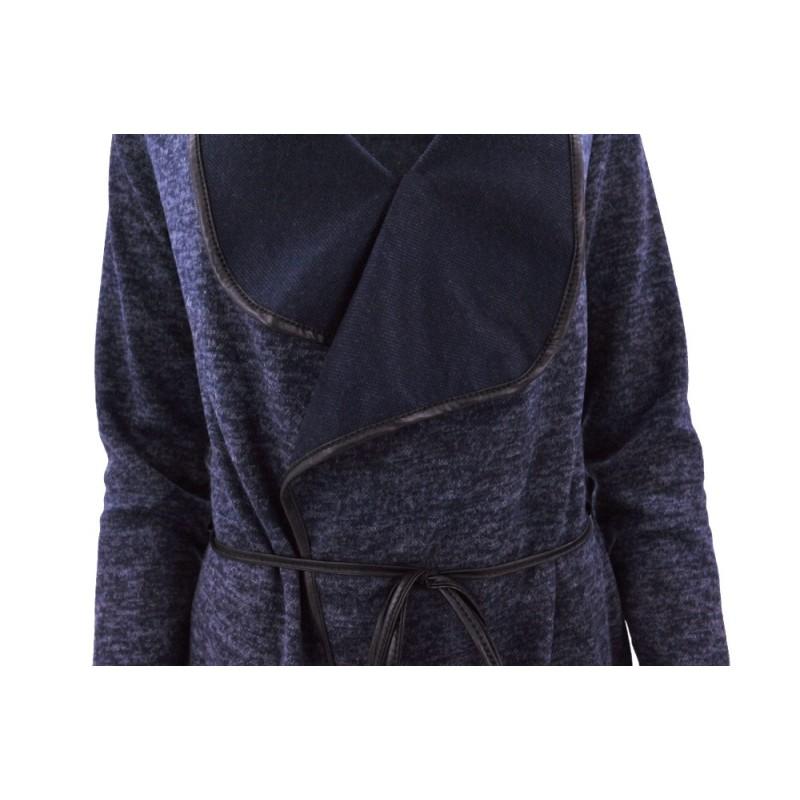 Kardigan sweter WATERFALL (c.fiolet)