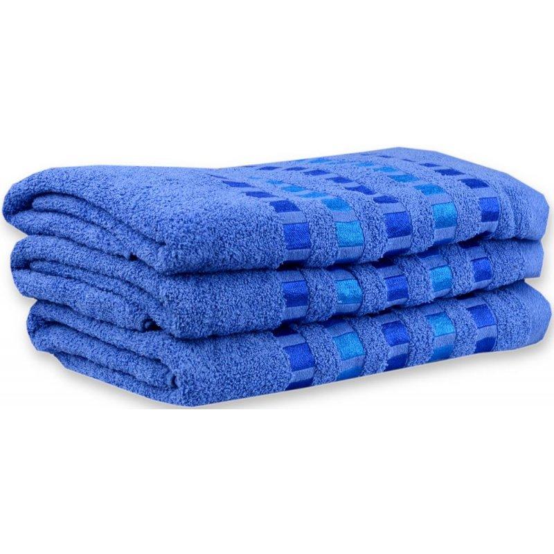 Ręcznik Bawełniany 01-67 kobaltowy Ręcznik Frotte Ręcznik 70x140 Ręcznik 50x100 ręcznik łazienkowy Ręcznik kąpielowy