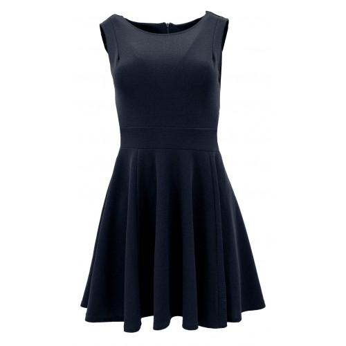 Sukienka rozkloszowana (czarna)