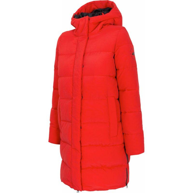 Płaszcz zimowy damski 4F H4Z20 KUDP008 - czerwony
