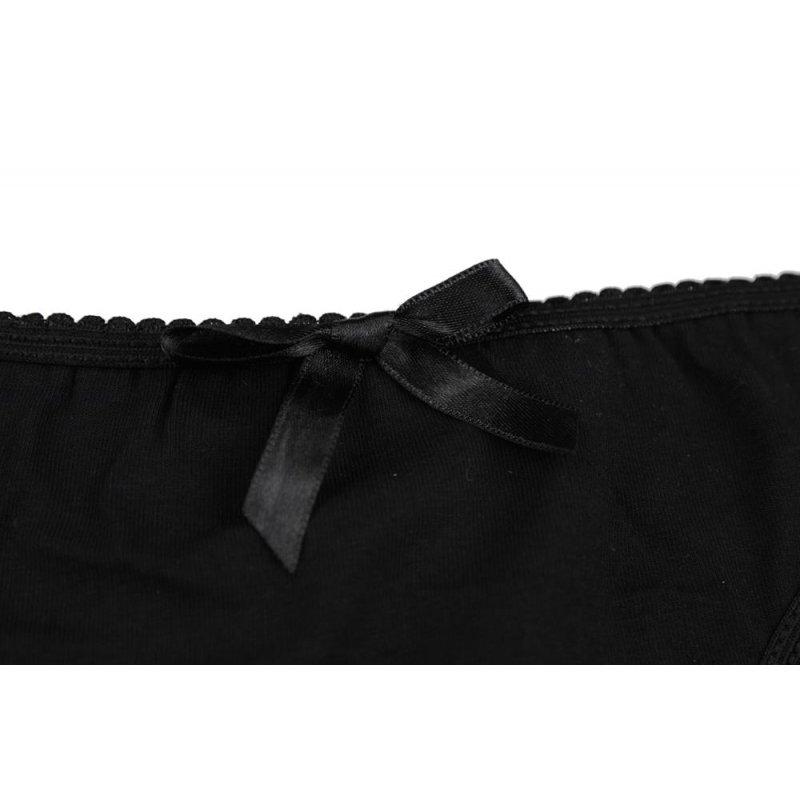 Czarne majtki damskie bawełniane 2171Q