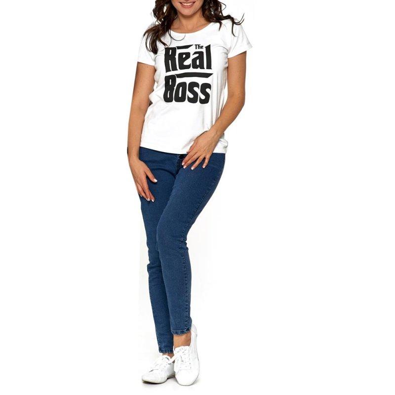 Koszulka damska MORAJ BD1100-552 - BIAŁA