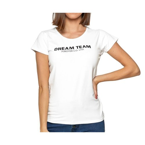 Koszulka damska MORAJ BD1100-554 - BIAŁA