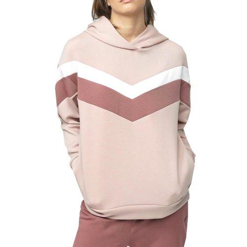 Bluza damska z kapturem 4F BLD020 H4L21 - różowa