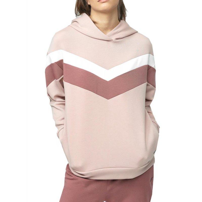 Bluza damska z kapturem 4F BLD012 H4L21 - czarna