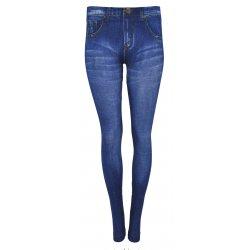 Legginsy imitacja jeansu SUPERSTRETCH (wzór2)