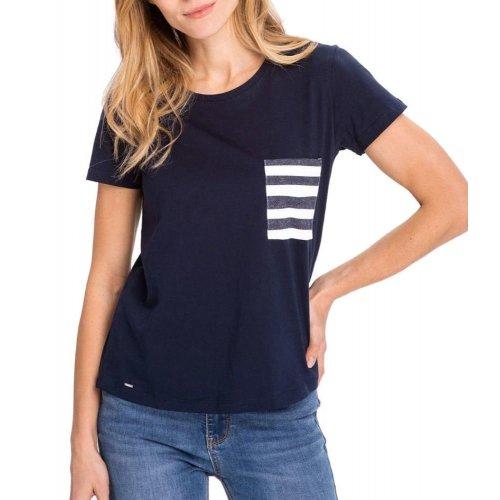 Koszulka damska T-MARINA- granatowa