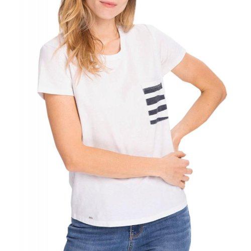 Koszulka damska T-MARINA- biała