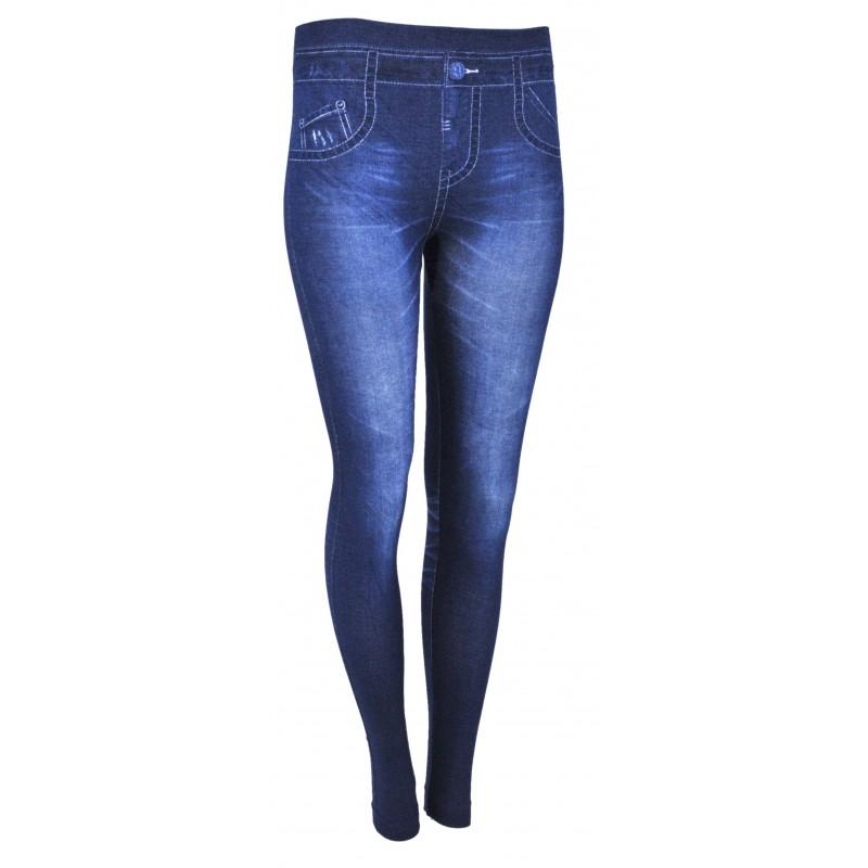 Legginsy imitacja jeansu (wzór1)