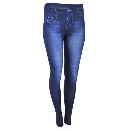Legginsy imitacja jeansu SUPERSTRETCH (wzór1)