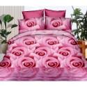 Pościel 3D FLOWERS (roses2) 160x200 Pościel 160x200 Pościel z Mikrowłókna 160x200 Pościel Antyalergiczna Pościel w Kwiaty