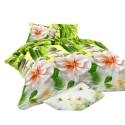 Pościel 3D FLOWERS (bambus) 200x220 Pościel 200x220 Pościel 3D Pościel Kwiaty Pościel Mikrowłókno Pościel Cotton World