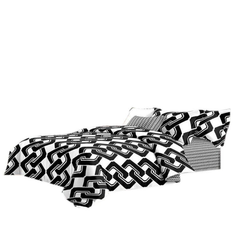 Pościel black & white (łańcuch) 200x220 Pościel 200x220 Pościel 200/220 Pościel Cotton World 200x220
