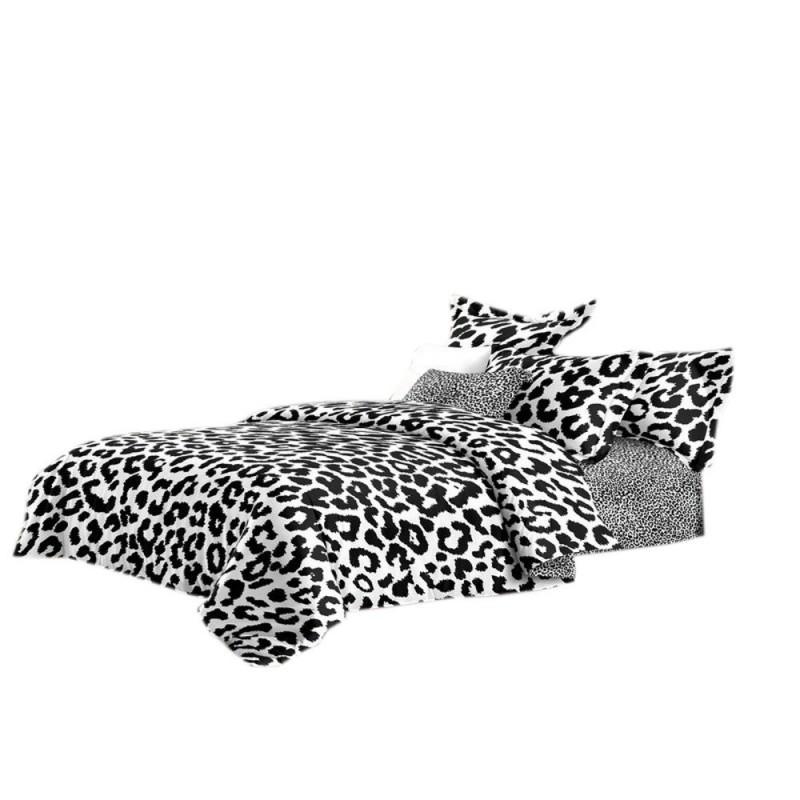 Pościel black & white (panterka) 160x200 Pościel 160x200 Pościel Cotton World