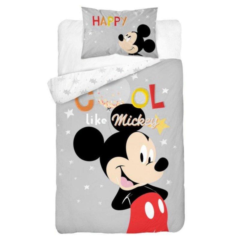 Pościel Dziecięca 100x135 Myszka Miki MM 03 B DC Pościel Myszka Miki Pościel do łóżeczka Dwustronna pościel dziecięca 100x135