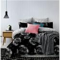 Pościel black & white (dmuchawce) 200x220 Pościel 200/220 Pościel Cotton World 200x220 Pościel 200x220