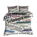 Pościel 3D 100% BAWEŁNA POLSKI PRODUCENT WZ. 265 Pościel w Napisy Pościel Bawełniana 160x200 Pościel 160x200 Pościel Młodzieżowa
