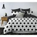 Pościel black & white (sześcian) 160x200 Pościel Cotton World Pościel 160x200