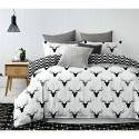 Pościel black & white (jeleń) 200x220 Pościel z Mikrowłókna 200x220 Pościel 200x220 Pościel 200/220