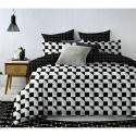 Pościel black & white (wzór geometryczny1) 160x200 Pościel Cotton World Pościel 160x200