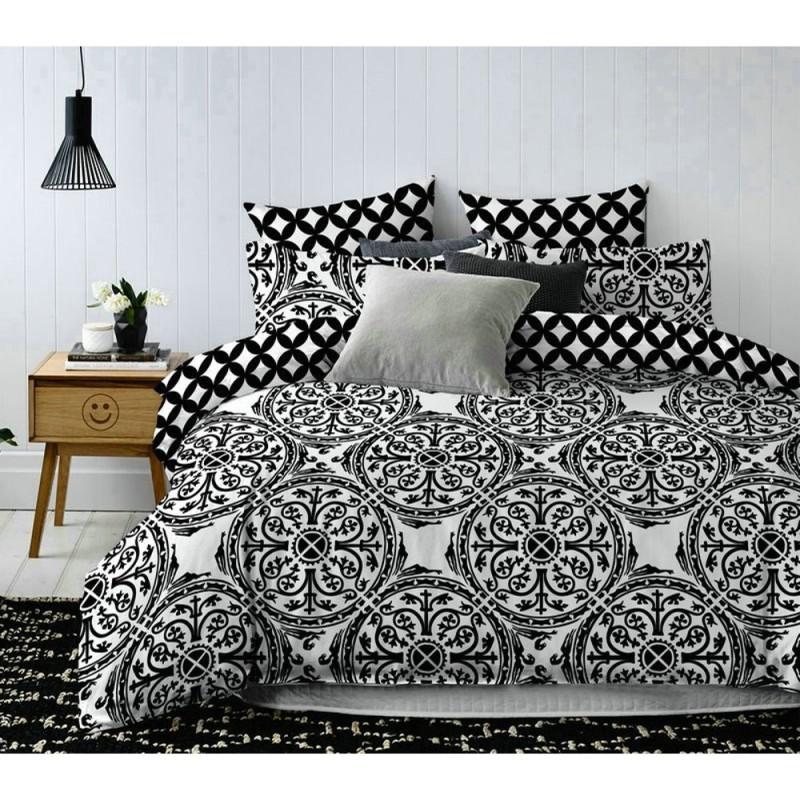 Pościel black & white (OrientFlowers) 160x200 Pościel Cotton World Pościel 160x200