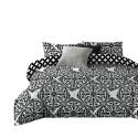 Pościel black & white (OrientFlowers) 200x220 Pościel Mikrowłókno 200x220 Pościel 200x220 Pościel 200/220