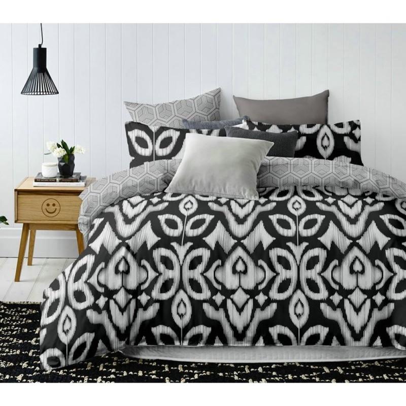 Pościel black & white (NightButterfly) 200x220 Pościel z Mikrowłókna 200x220 Pościel 200x220 Pościel 200/220