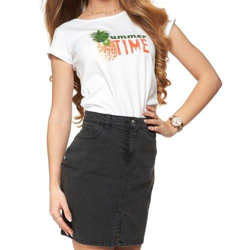 Koszulka damska SUMMERTIME -  biała