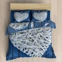 Pościel 3D BAWEŁNA POLSKI PRODUCENT WZ. 037 Pościel Serce Pościel Bawełniana 160x200 Pościel 160x200 Pościel dla Par 160x200