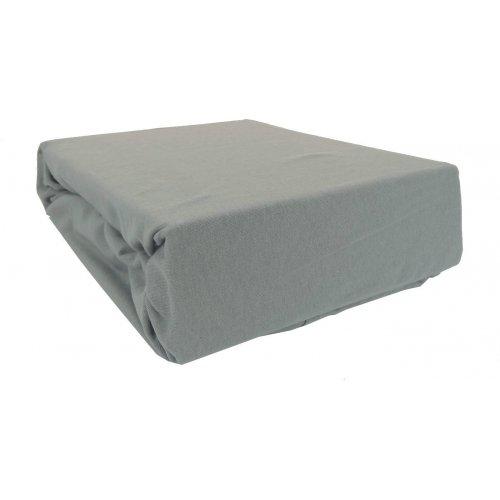 Prześcieradło bawełniane z gumką 160x200 Jersey 50