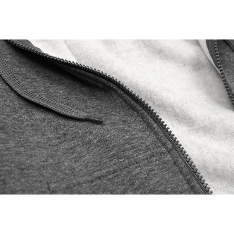 Klasyczna bluza damska - grafit melanż