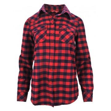 Klasyczna koszula w kratkę (czerwona)