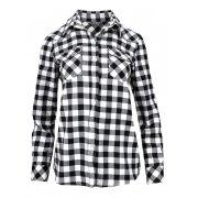 Klasyczna koszula w kratkę (czarna)