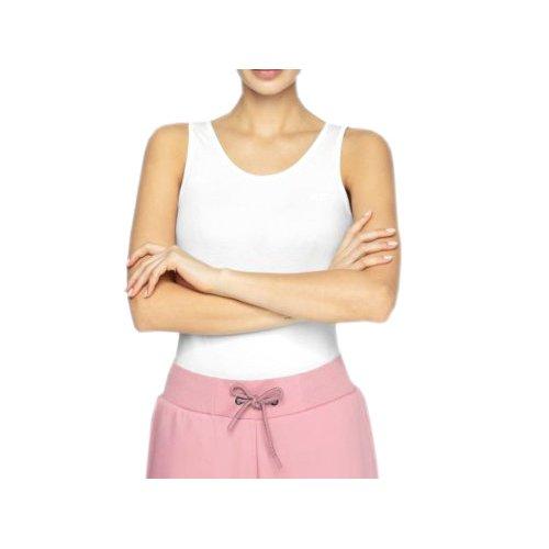 Damska bluzka na szelkach NOSH4 TSD351 - biała