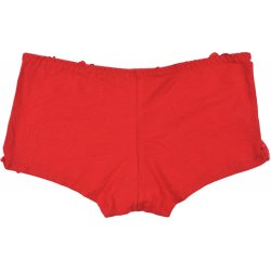 Bokserki bawełna-koronka (czerwone)