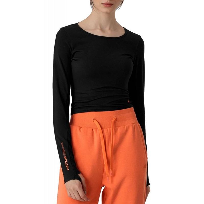 Koszulka damska 4F H4Z21 TSDL013 - czarna