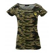 Koszulka bawełniana MORO kr. rękaw (khaki3)