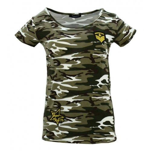 Koszula bawełniana MORO kr. rękaw (khaki2)