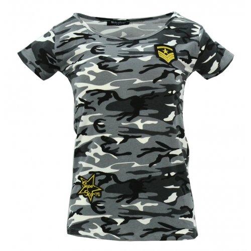 Koszulka bawełniana MORO kr. rękaw (khaki1)
