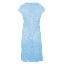 Sukienka koronkowa DUŻY ROZMIAR (jasnoniebieska)