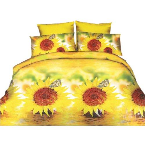 Pościel w kwiaty 160x200 3D (wz.7)