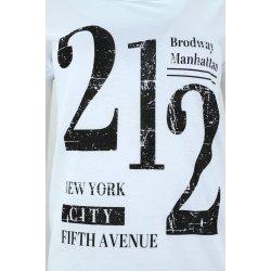 Koszulka damska z napisami 212 (biała)