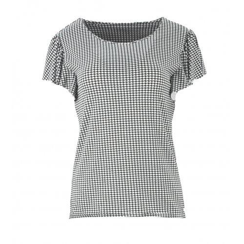 Elegancke damskie bluzki wizytowe pepitka
