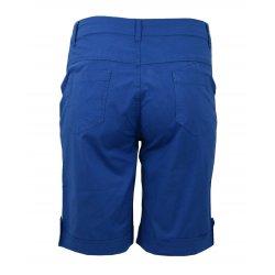 Spodenki damskie bawełniane eleganckie ERMUDY (niebieskie)