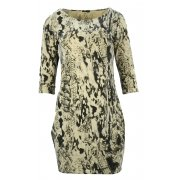 Sukienka z kieszeniami (beżowa)