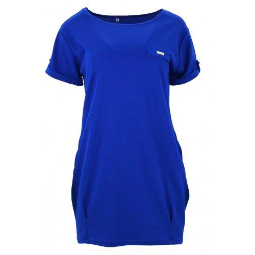 Luźna sukienka (chaber)