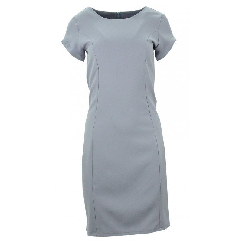 10bb04657b Ołówkowa sukienka (szara)