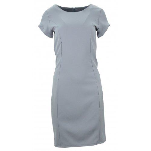 Ołówkowa sukienka (szara)
