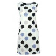 Sukienka w grochy (biało czarna)